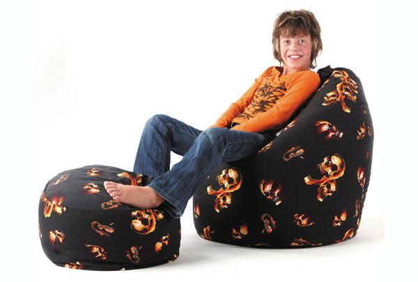 hautvertr glicher sitzsack baumwolle ist die erste wahl. Black Bedroom Furniture Sets. Home Design Ideas
