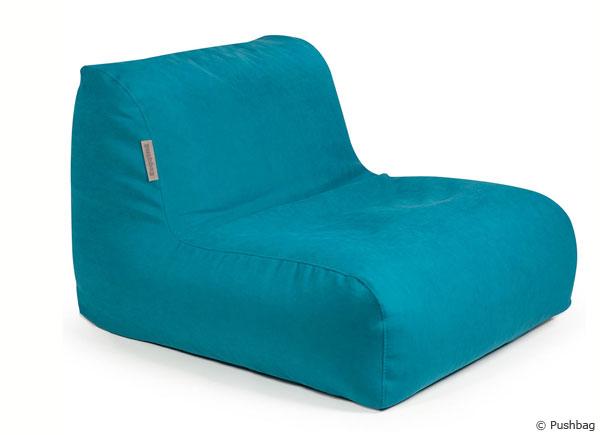 Fühlen wie ein Rennfahrer im Sitzsack Chair Soft von Pushbag.