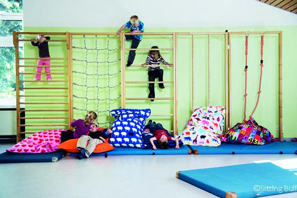 Spielzone für kleine Kinder in einer Kita