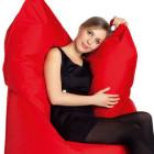 roter Sitzsack