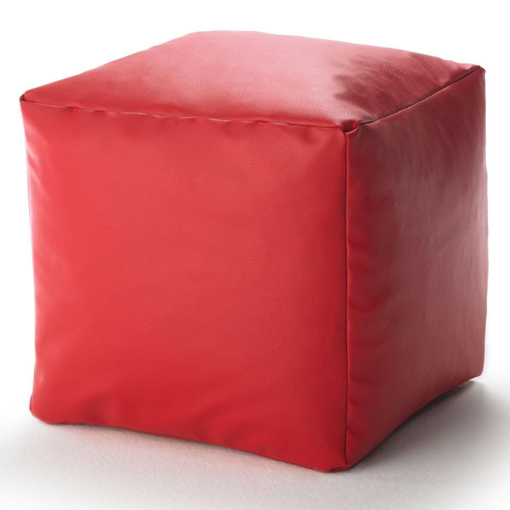 Würfel Lederimitat (Rot)