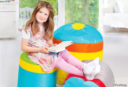 Cupcake Sitzsäcke für Kinder